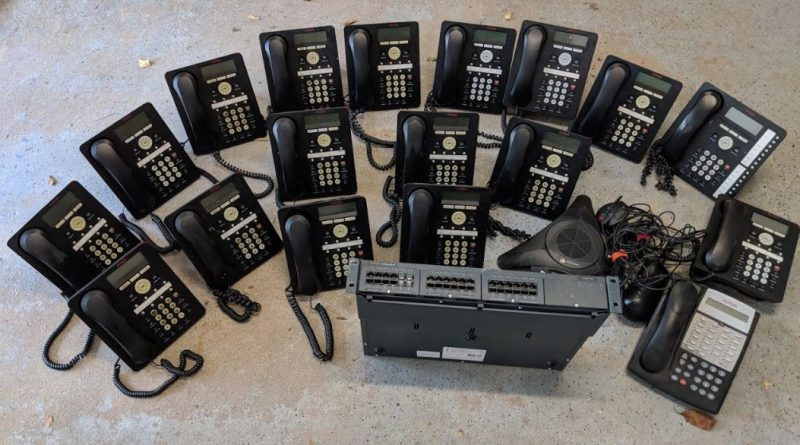 Traditional Telephone system